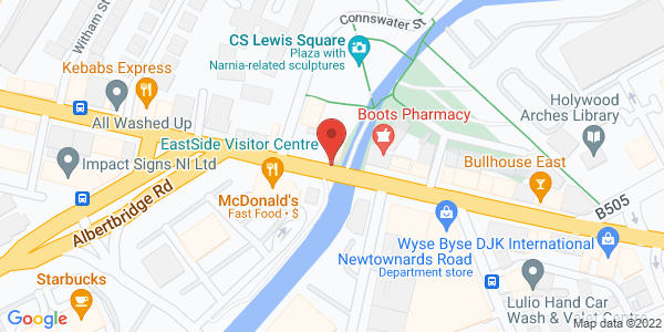Map showing activity location