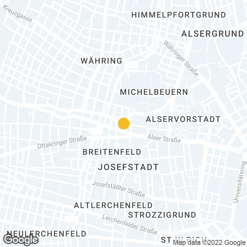 Google Map Location of Vienna Office