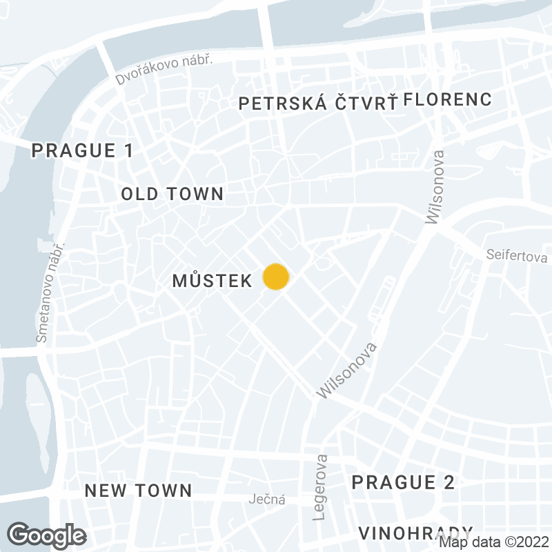 Google Map Location of Prague Office