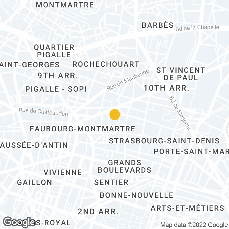 Google Map Location of Paris Office