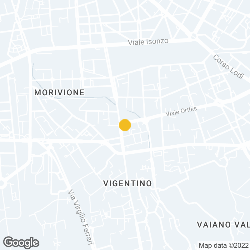 Google Map Location of Milano Office
