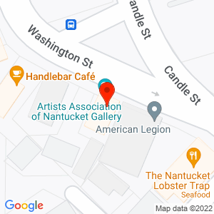Google Map of 19 Washington Street, Nantucket MA 02554