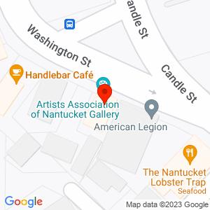 Google Map of 19 Washington Street, Nantucket MA 02554