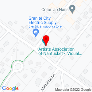 Google Map of 24 Amelia Drive, Nantucket MA 02554