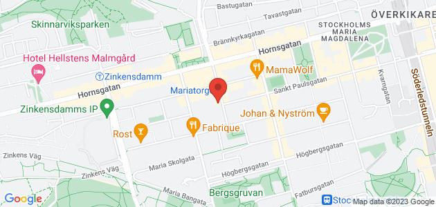 Karta över polisstationen.
