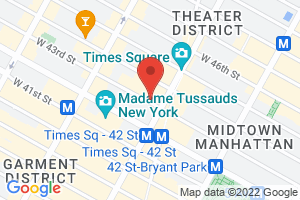 Map image for Dramatists Guild of America