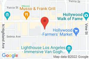 Map image for Los Angeles LGBT Center