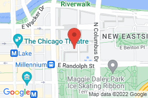 Map image for Chicago Council on Global Affairs