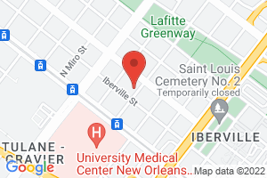 Map image for New Orleans Workers' Center for Racial Justice