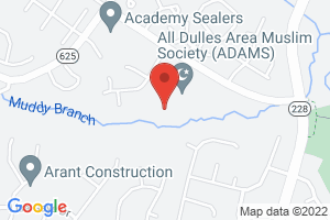 Map image for All Dulles Area Muslim Society