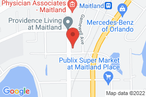 Map image for Save the Manatee Club