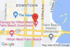 Map image for Community Foundation for Palm Beach and Martin Counties