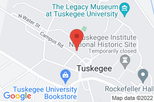 Map image for Tuskegee University