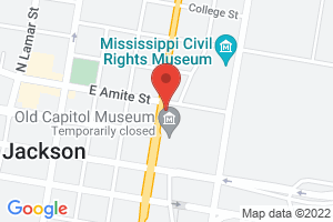 Map image for Mississippi Center for Justice