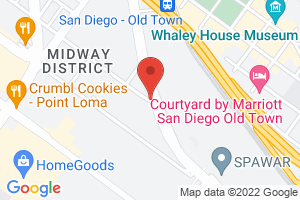 Map image for ACLU San Diego