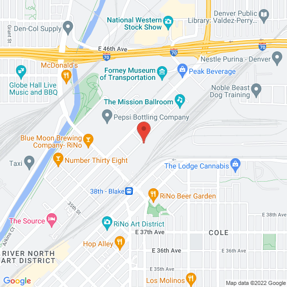 Map to Mission Ballroom