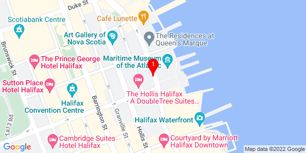 Google Map of Halifax Distilling Co