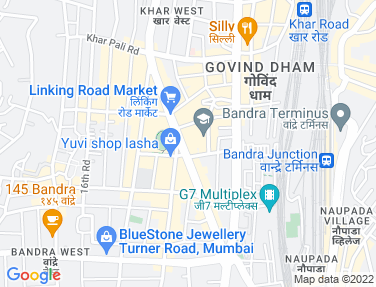 Location Map - Lalani Aura, Bandra West
