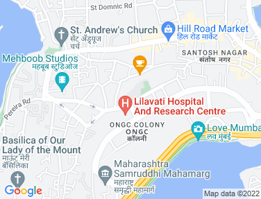 Location Map - Chapel Avenue, Bandra West