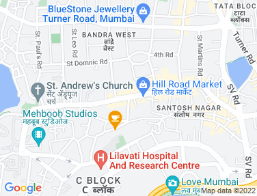 Location Map - Rizvi Chambers, Bandra West