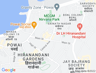 Location Map - Galleria Mall, Powai