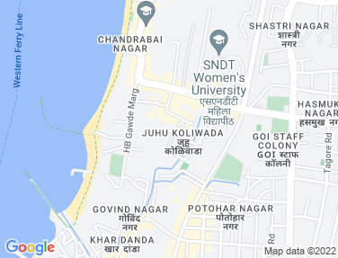 Location Map - Milton Apartments, Juhu