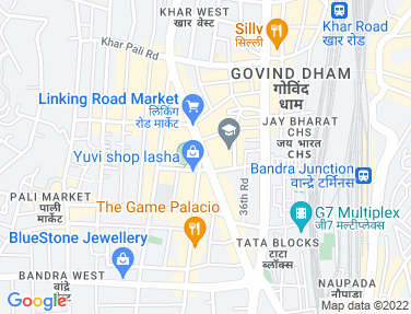 Location Map - Esperanza, Bandra West