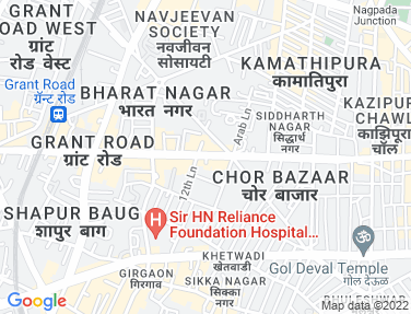 Flat on rent in Bharat Nagar Society, Grant Road