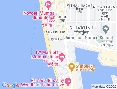 Location Map - Vikas Villa, Juhu
