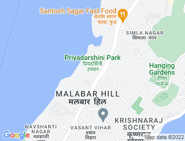 Location Map - Jal Darshan, Nepeansea Road