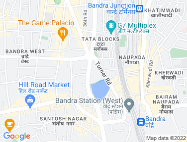Location Map - Mamta House, Bandra West