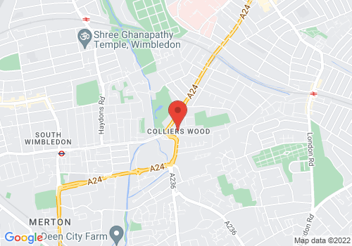 Colliers Wood location