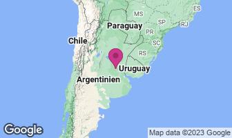 Karte des Geburtsortes von Lionel Messi