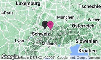 Karte des Geburtsortes von Ulrich Zwingli