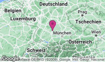 Karte des Geburtsortes von Margarete Steiff