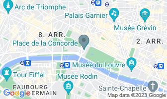 Karte des Todesortes von Marie Antoinette
