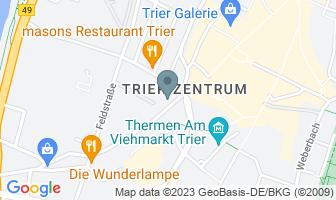 Karte des Geburtshauses von Karl Marx