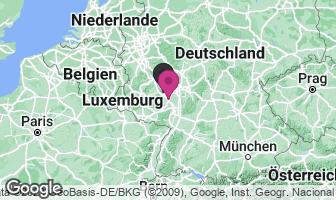 Karte des Geburtsortes von Hildegard von Bingen