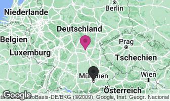 Karte des Geburtsortes von Hans Ehard