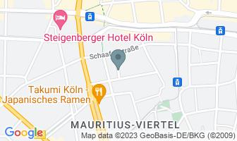 Karte des Geburtshauses von Konrad Adenauer
