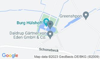 Karte des Geburtshauses von Annette von Droste-Hülshoff