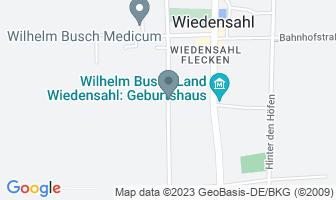 Karte des Geburtshauses von Wilhelm Busch