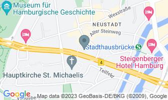 Karte des Geburtshauses von Felix Mendelssohn Bartholdy