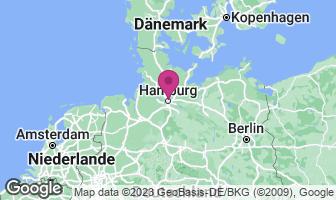 Karte des Geburtsortes von Uwe Seeler