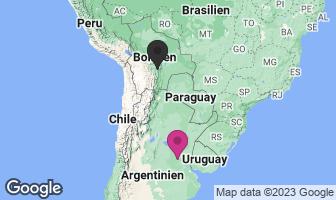 Karte des Geburtsortes von Che Guevara