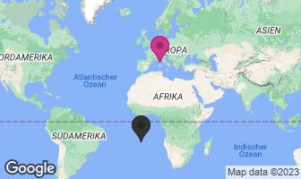 Karte des Geburtsortes von Napoleon Bonaparte