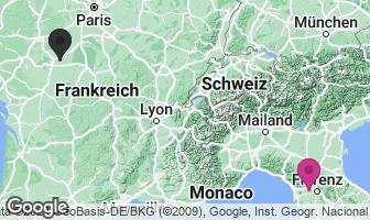 Karte des Geburtsortes von Leonardo da Vinci
