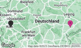 Karte des Geburtsortes von Robert Schumann