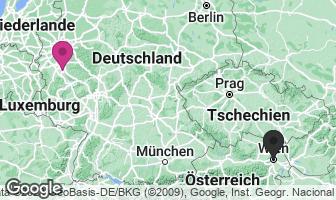 Karte des Geburtsortes von Ludwig van Beethoven