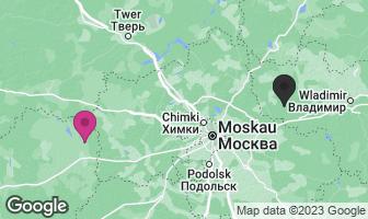 Karte des Geburtsortes von Juri Gagarin